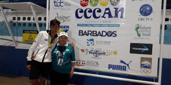 Diego Montoya y entrenadora Amanda Foto 0