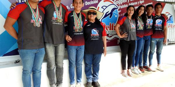 Medallistas de El Delfín